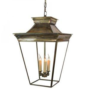 Large Pagoda Lantern from Limehouse lighting